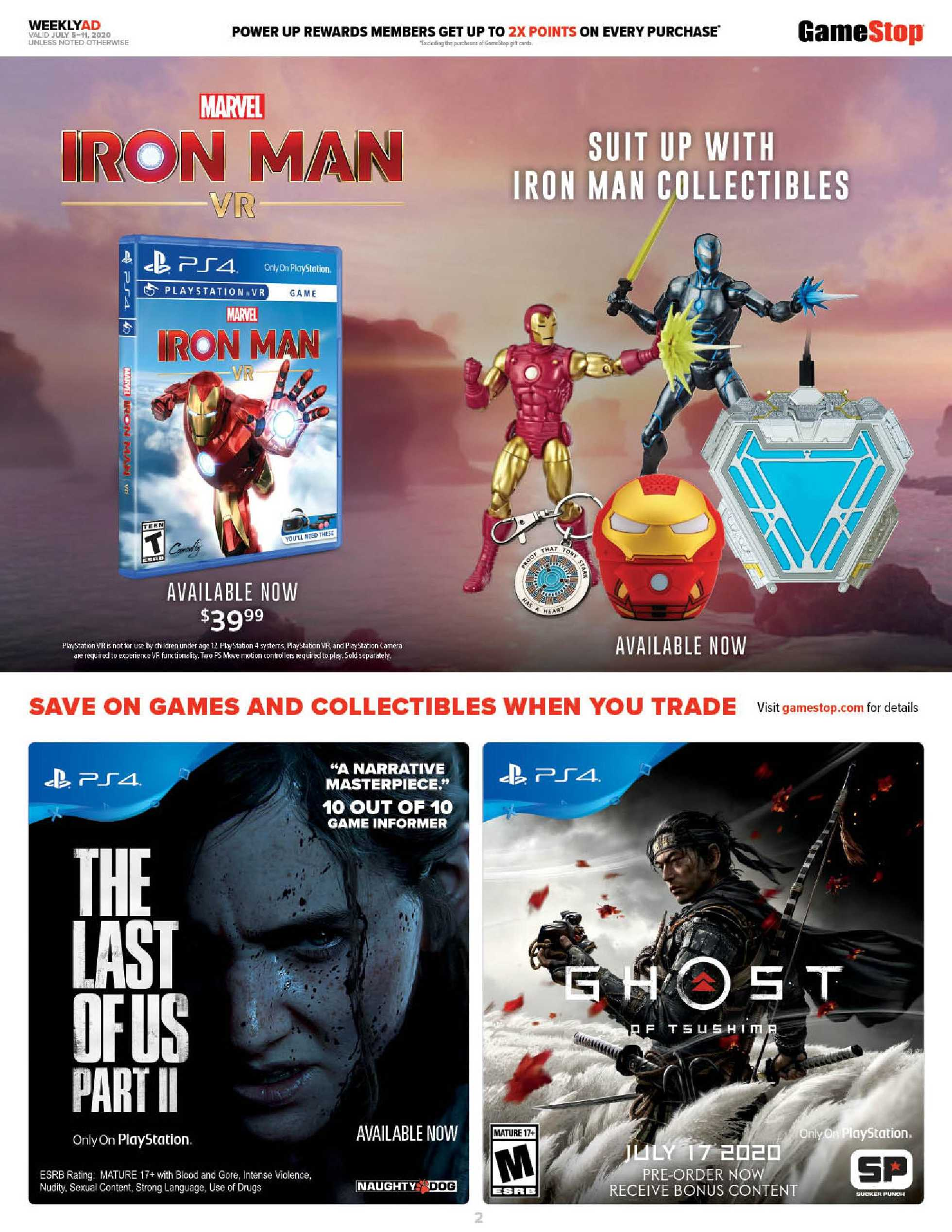 GameStop - deals are valid from 07/05/20 to 07/11/20 - page 2.