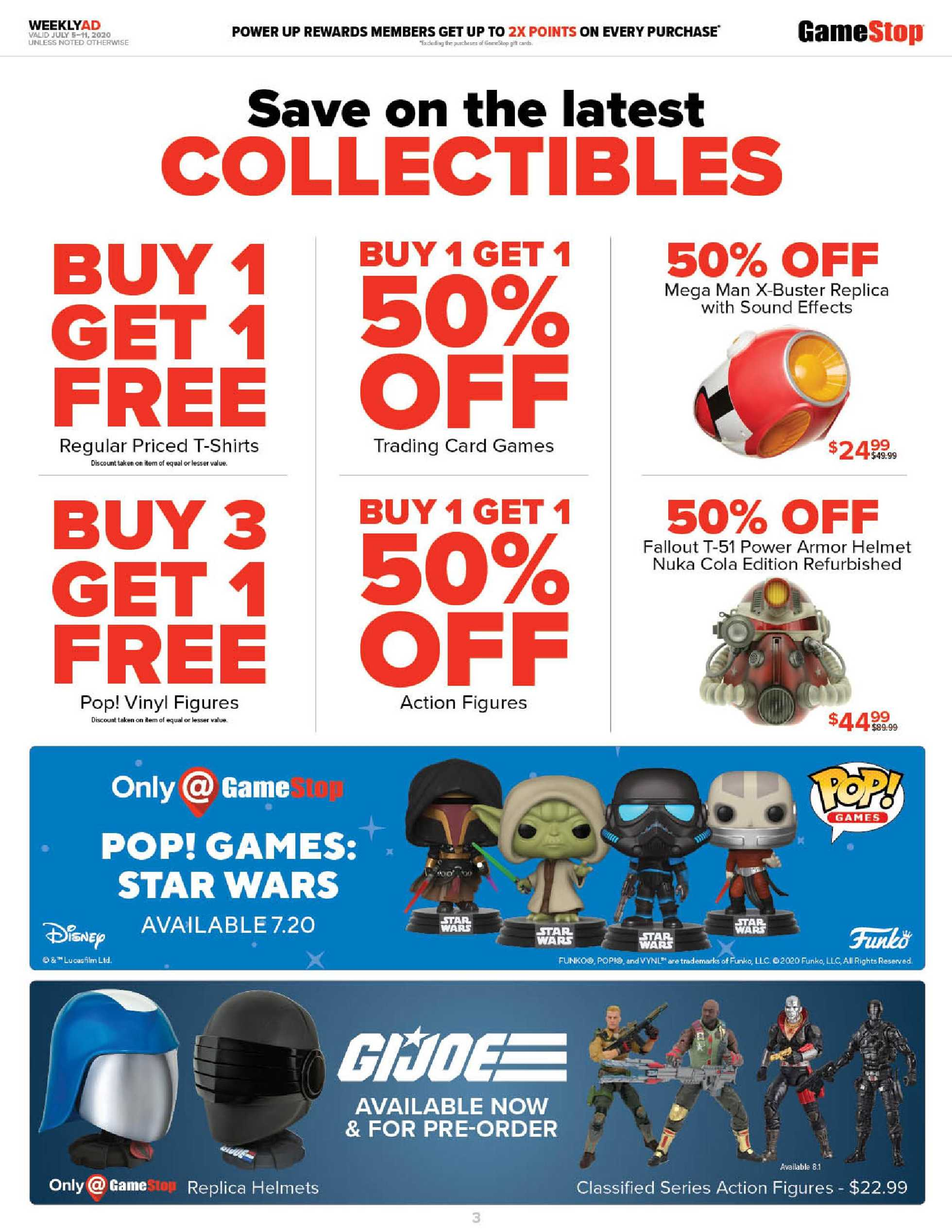 GameStop - deals are valid from 07/05/20 to 07/11/20 - page 3.