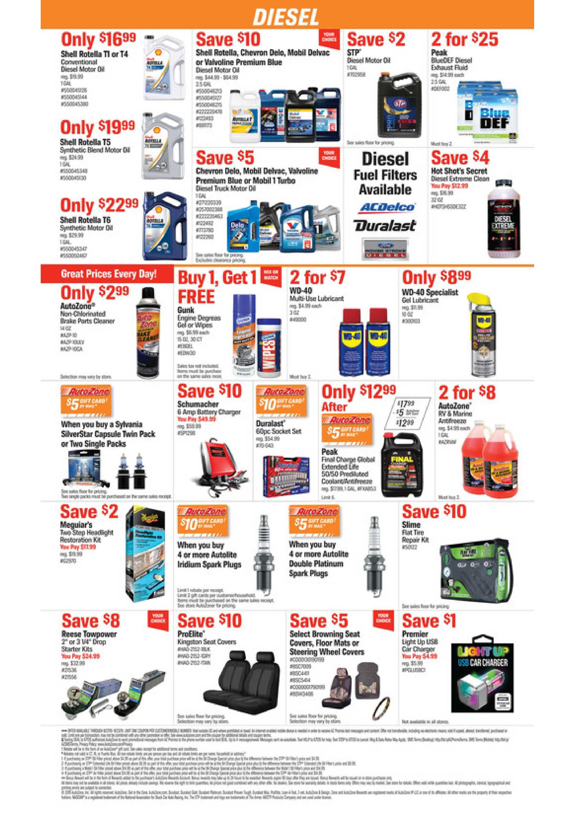 AutoZone - deals are valid from 08/27/19 to 09/23/19 - page 2.