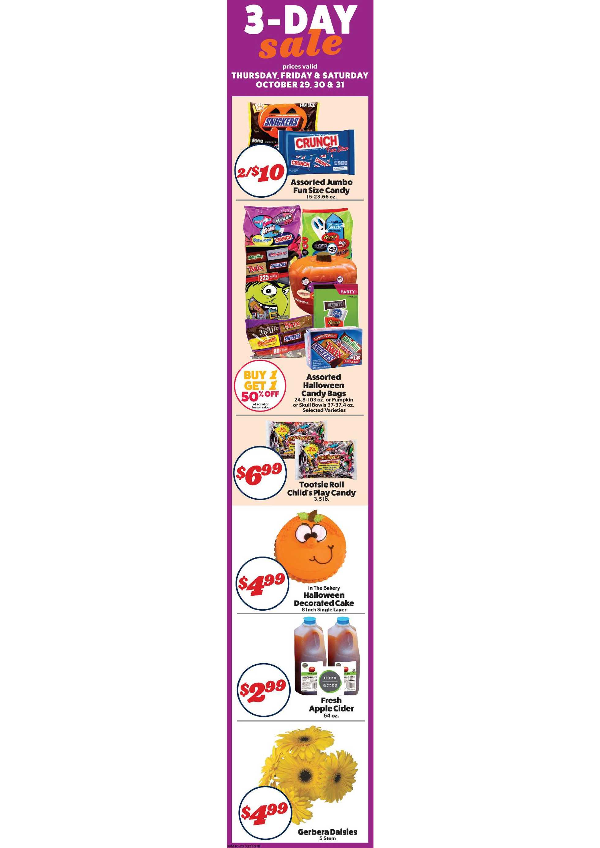 Family Fresh Market - deals are valid from 10/25/20 to 10/31/20 - page 3.