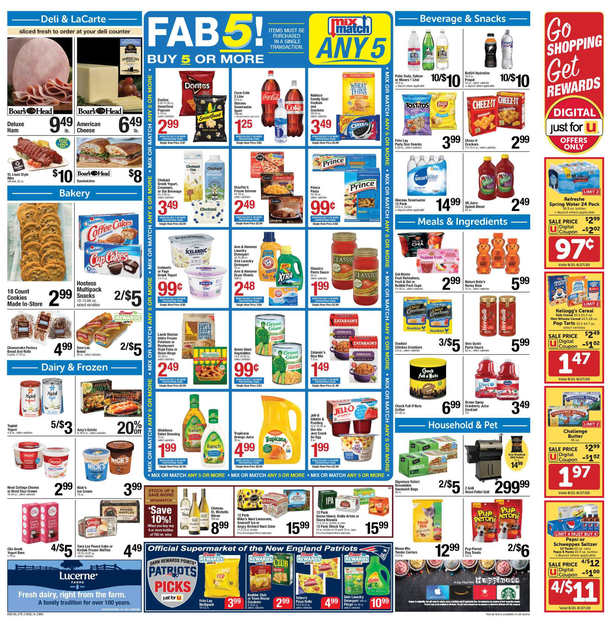Star Market - deals are valid from 08/21/20 to 08/27/20 - page 2.