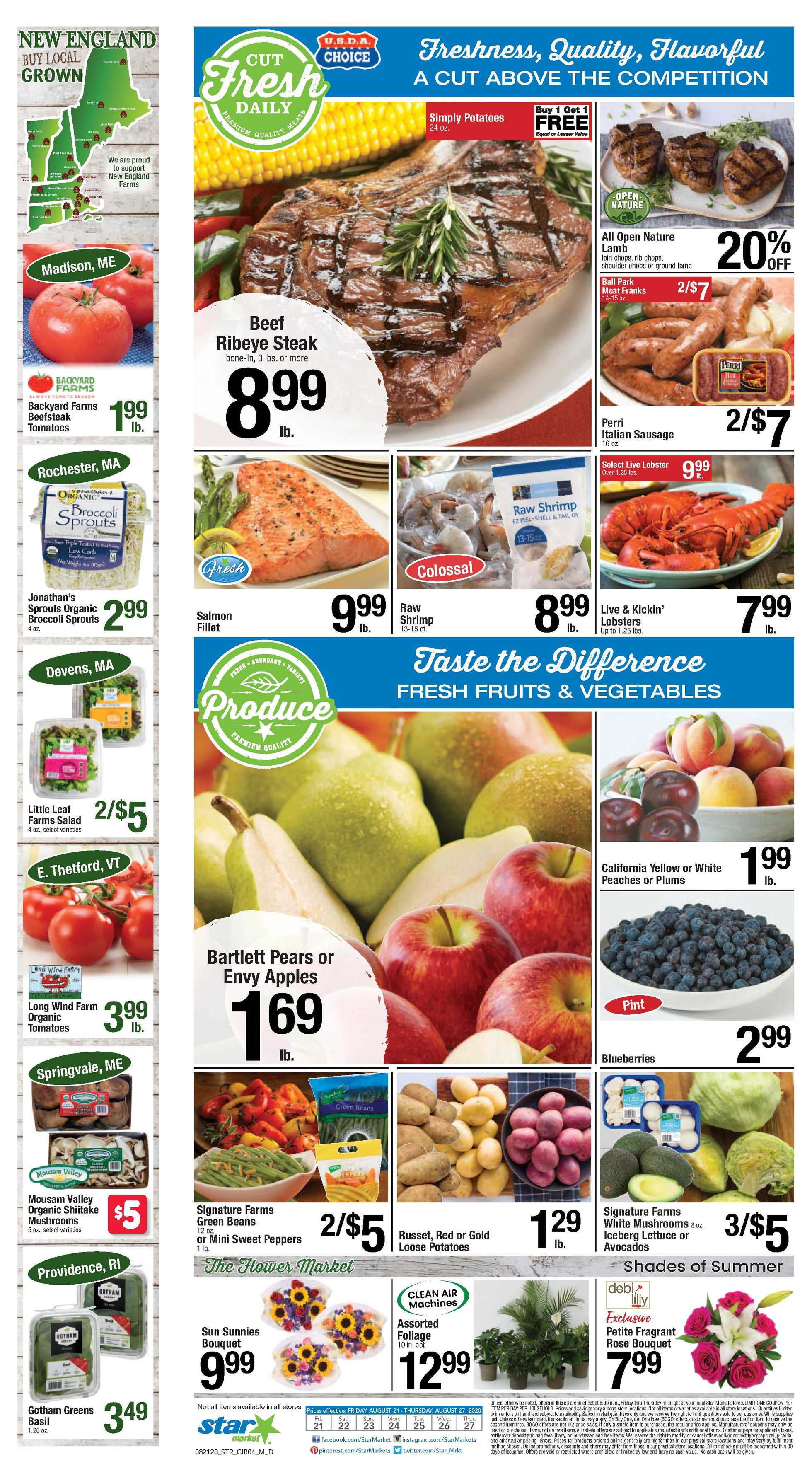 Star Market - deals are valid from 08/21/20 to 08/27/20 - page 3.