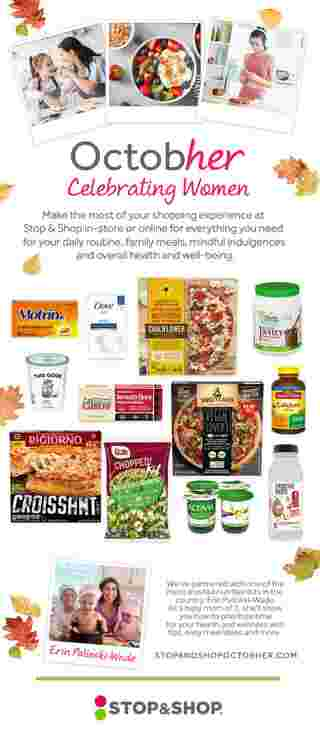 Stop & Shop - deals are valid from 10/16/20 to 10/22/20 - page 6.