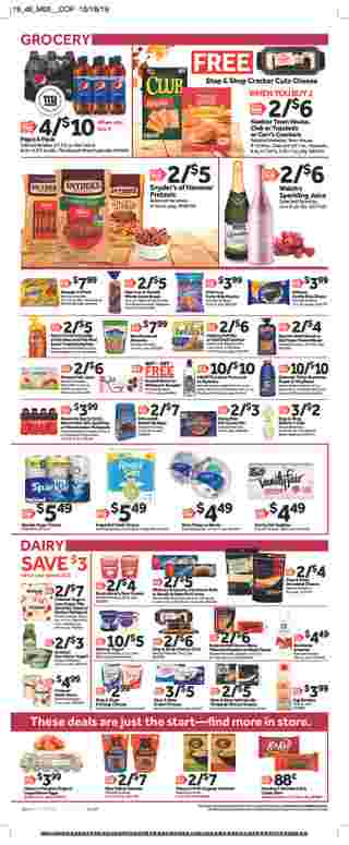 Stop & Shop - deals are valid from 11/08/19 to 11/14/19 - page 11.