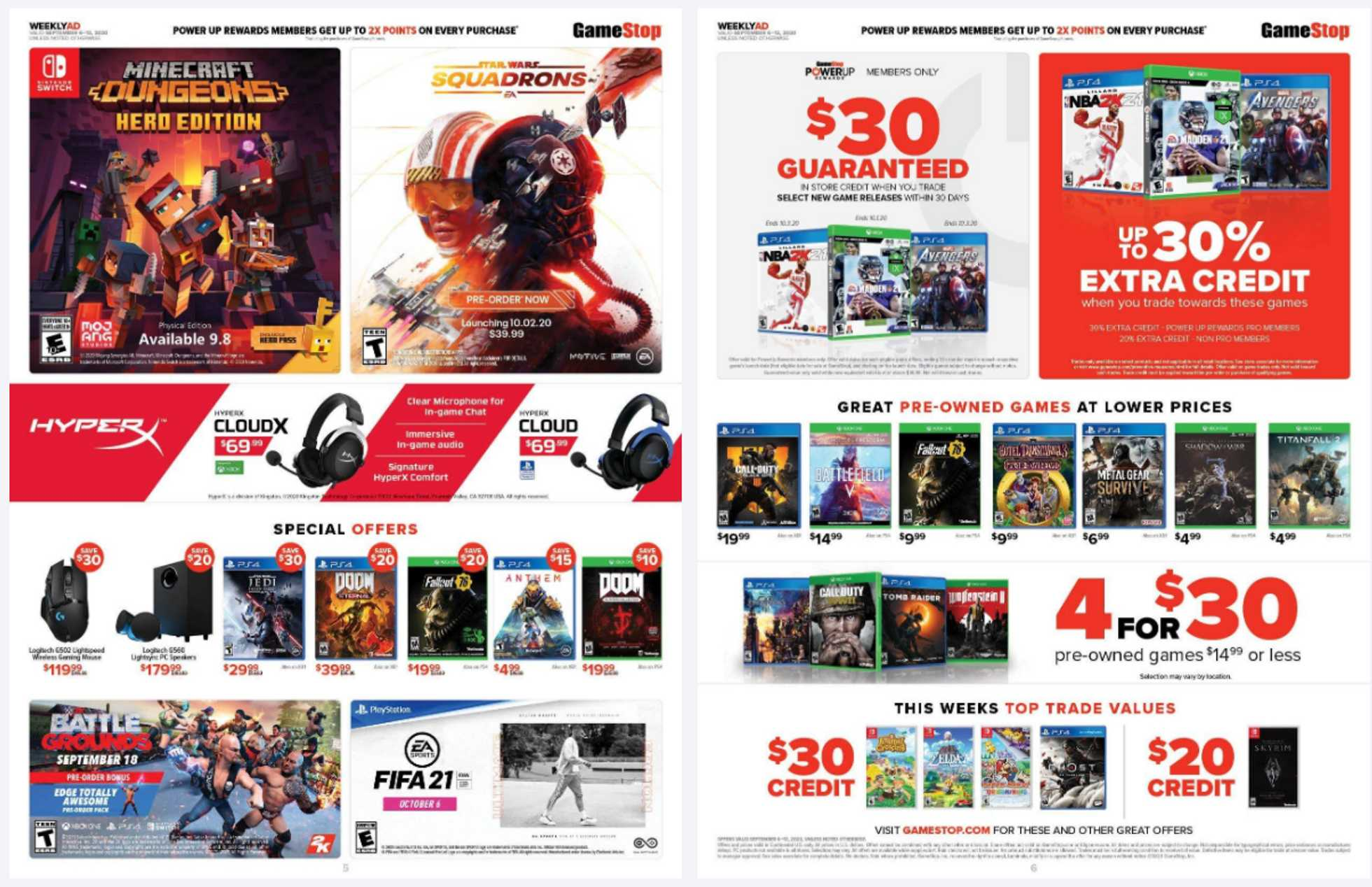 GameStop - deals are valid from 09/06/20 to 09/12/20 - page 3.