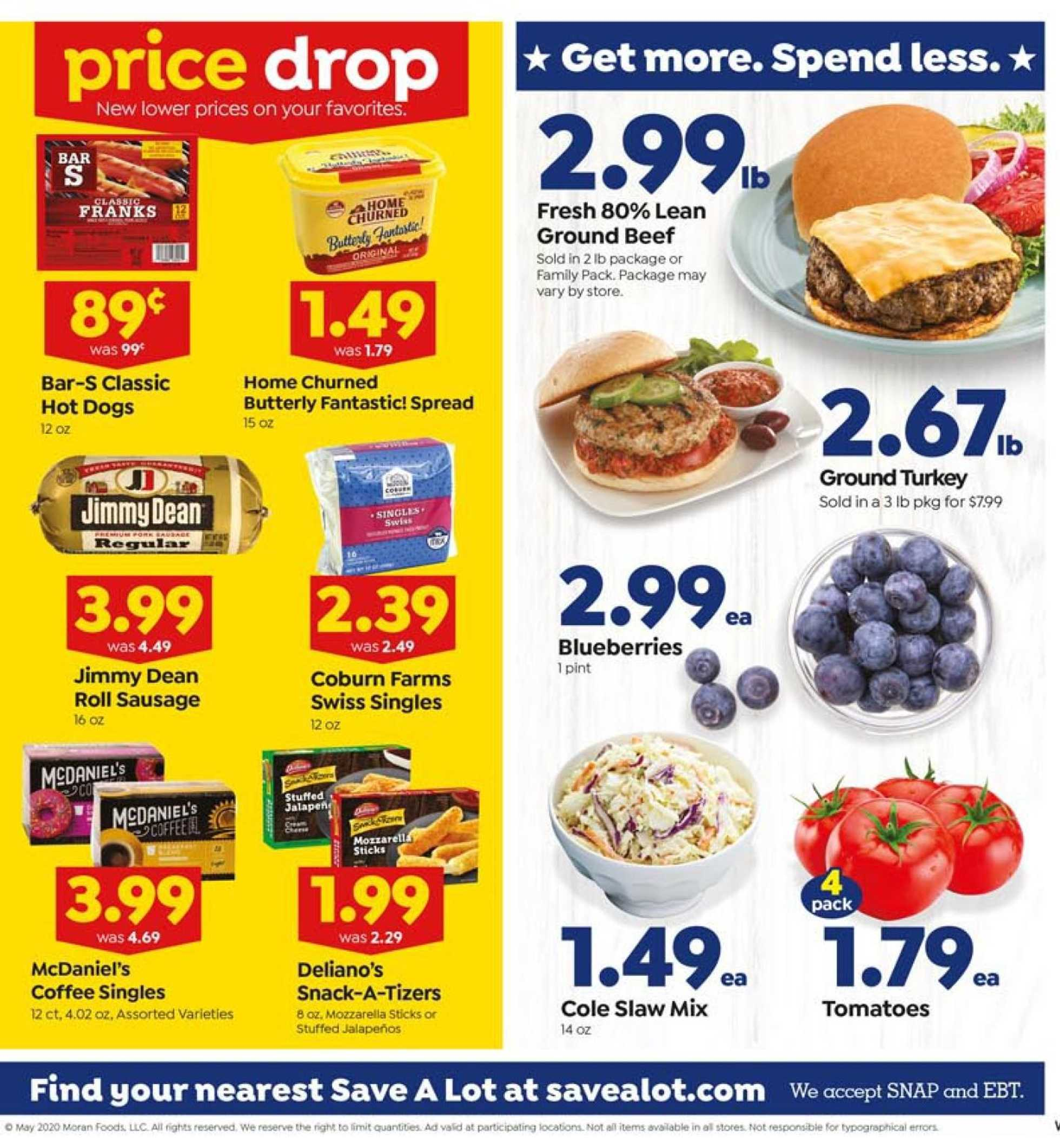 Save-A-Lot - deals are valid from 05/20/20 to 05/26/20 - page 3.