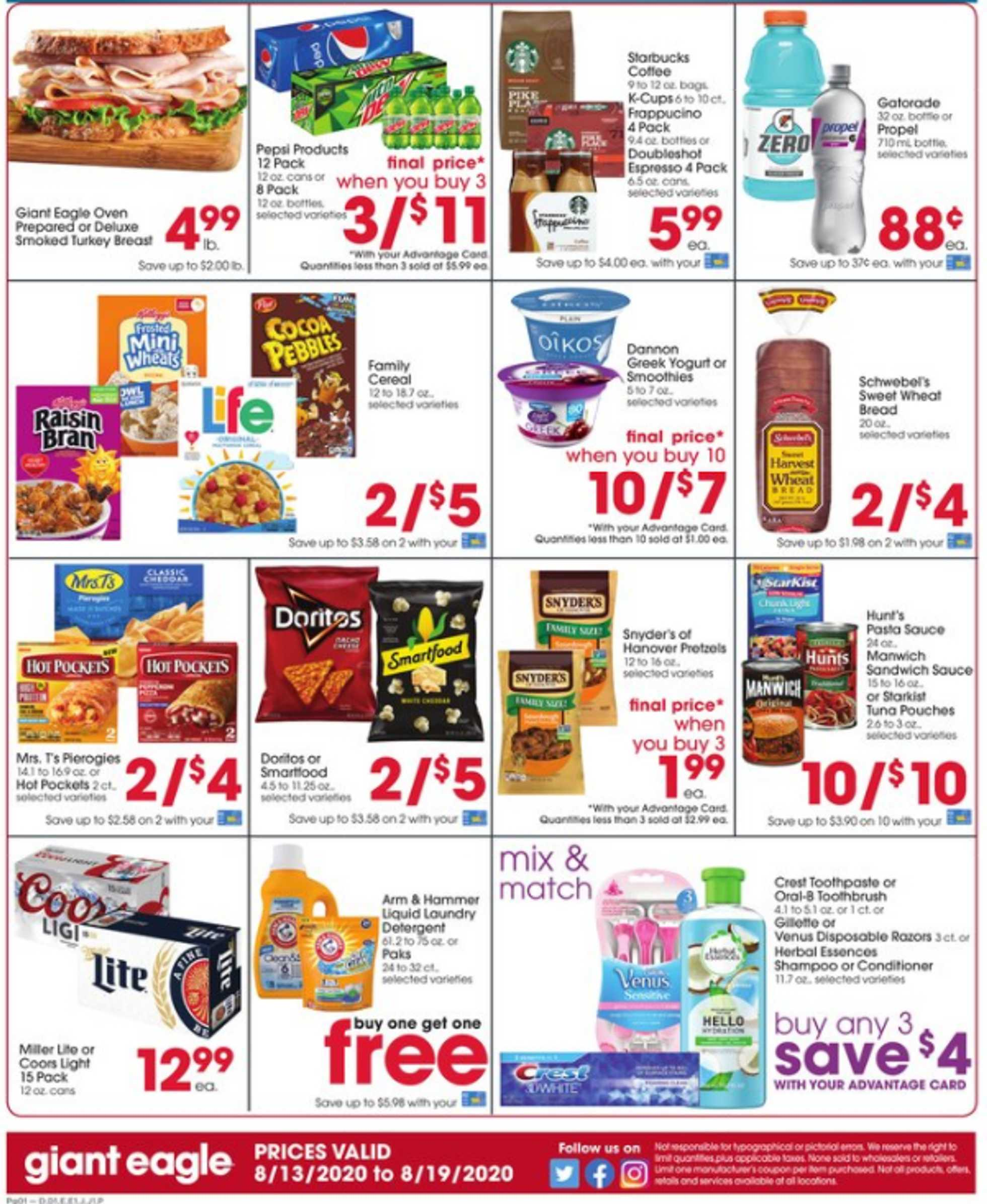 Giant Eagle - deals are valid from 08/13/20 to 08/19/20 - page 2.