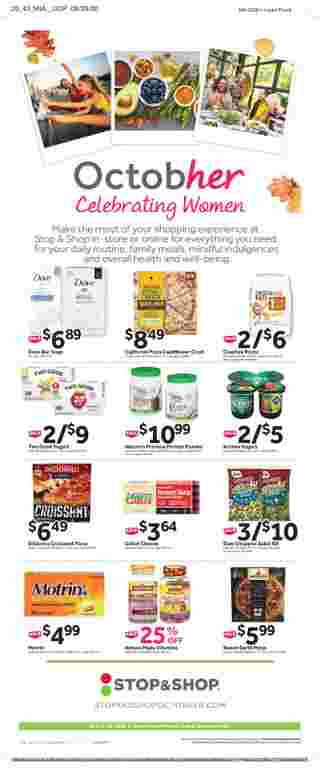 Stop & Shop - deals are valid from 10/16/20 to 10/22/20 - page 14.
