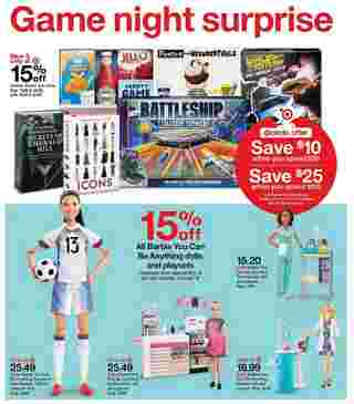 Target - deals are valid from 10/11/20 to 10/17/20 - page 11.