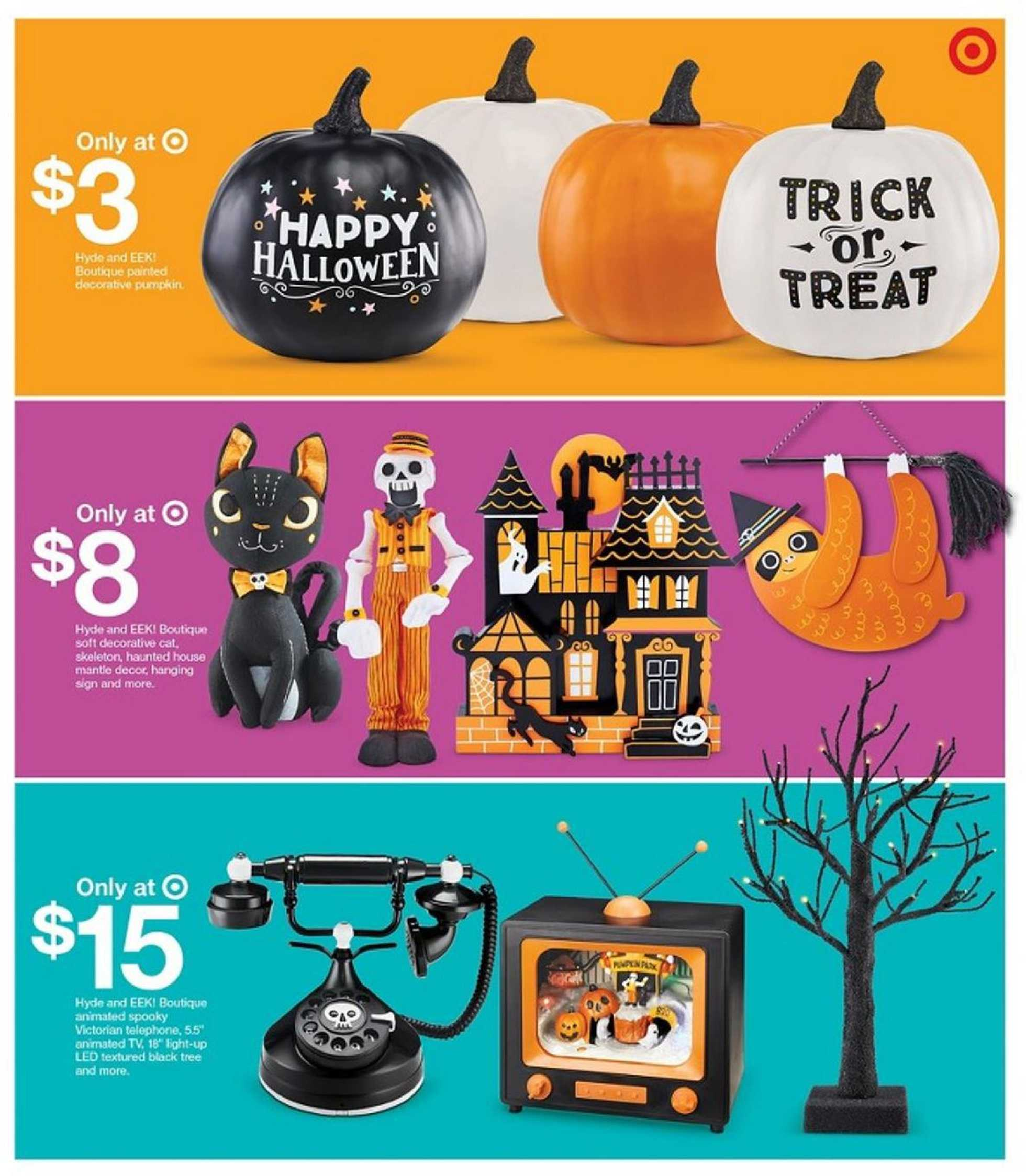 Target - deals are valid from 10/11/20 to 10/17/20 - page 3.