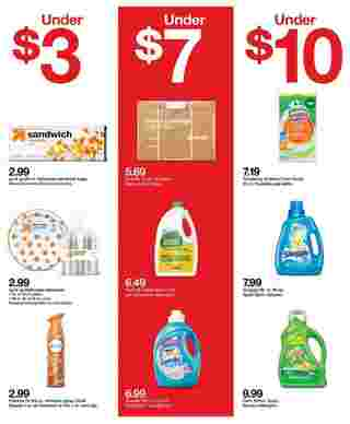Target - deals are valid from 10/11/20 to 10/17/20 - page 31.