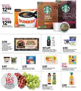 Target - deals are valid from 10/11/20 to 10/17/20 - page 32.