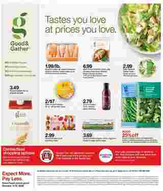 Target - deals are valid from 10/11/20 to 10/17/20 - page 35.