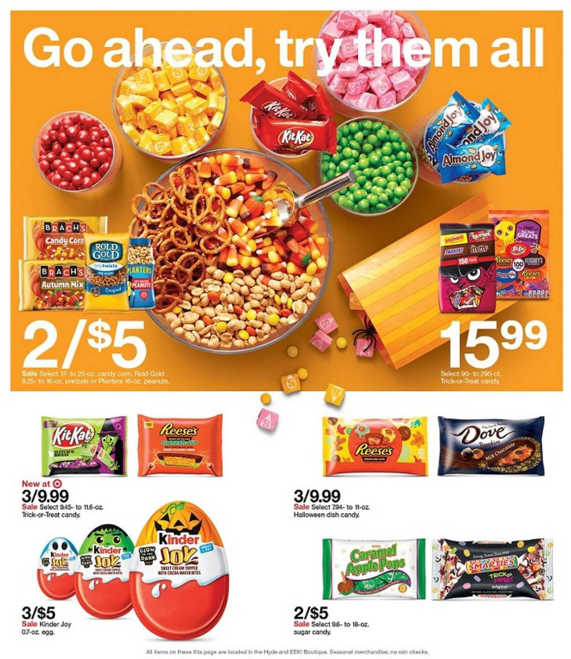 Target - deals are valid from 10/11/20 to 10/17/20 - page 4.