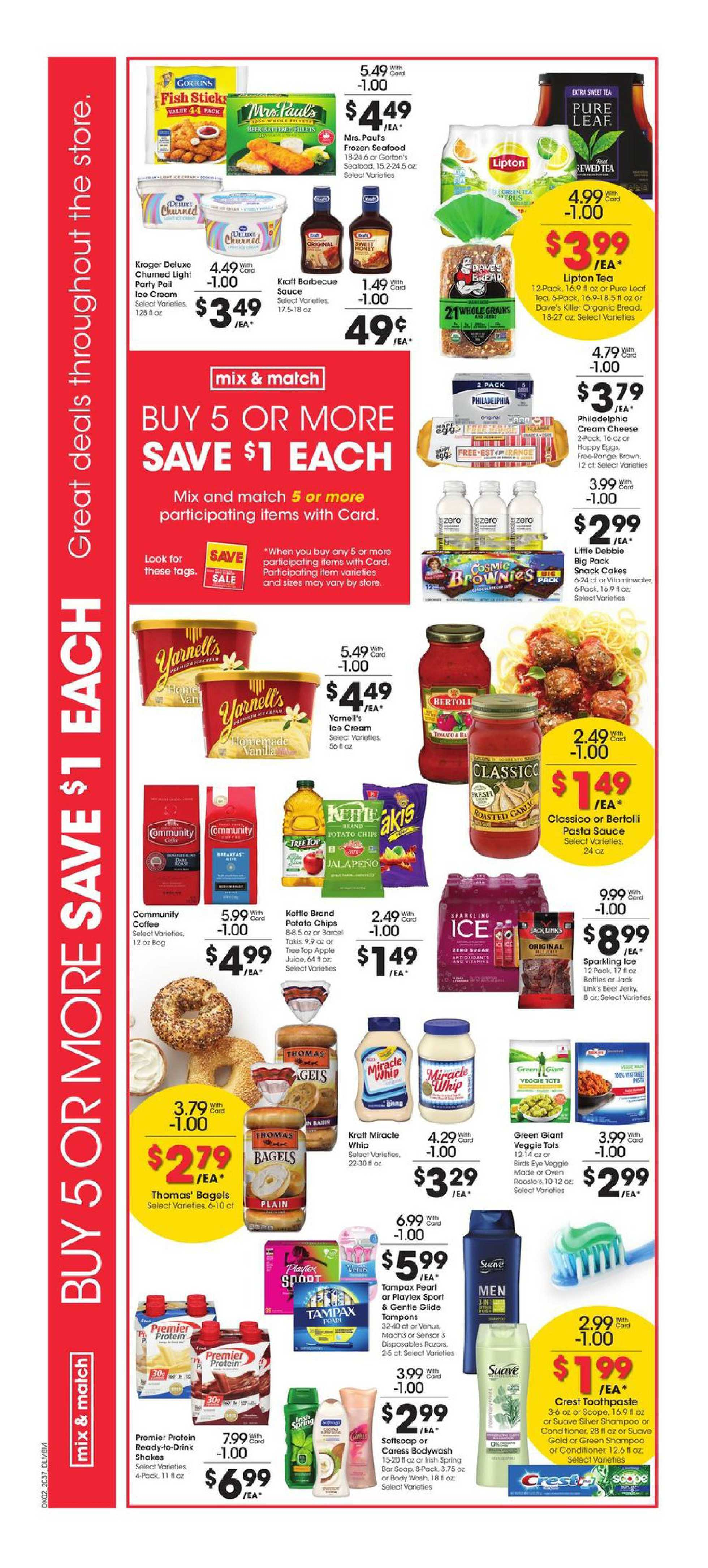 Kroger - deals are valid from 10/14/20 to 10/20/20 - page 3.