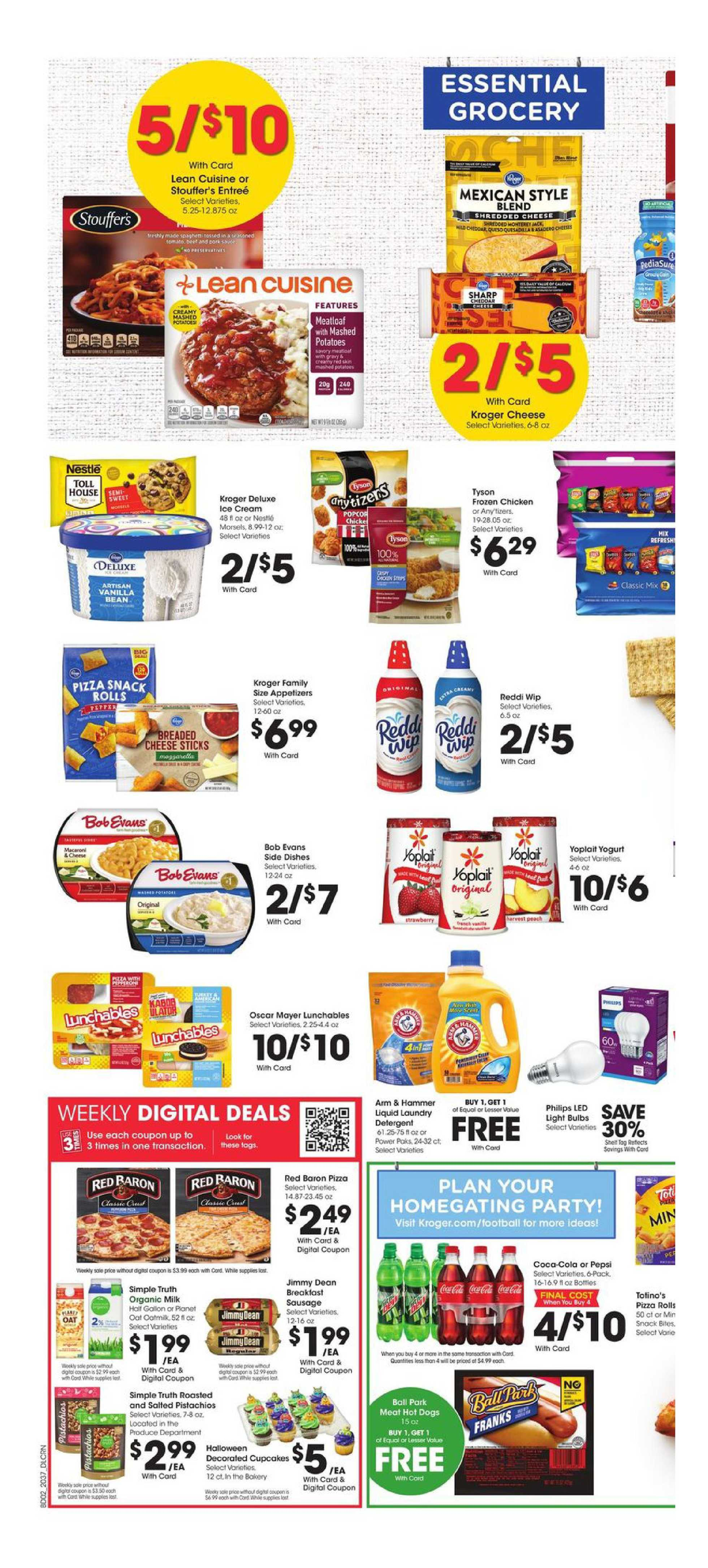 Kroger - deals are valid from 10/14/20 to 10/20/20 - page 4.
