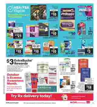 CVS - deals are valid from 10/07/20 to 10/20/20 - page 17.