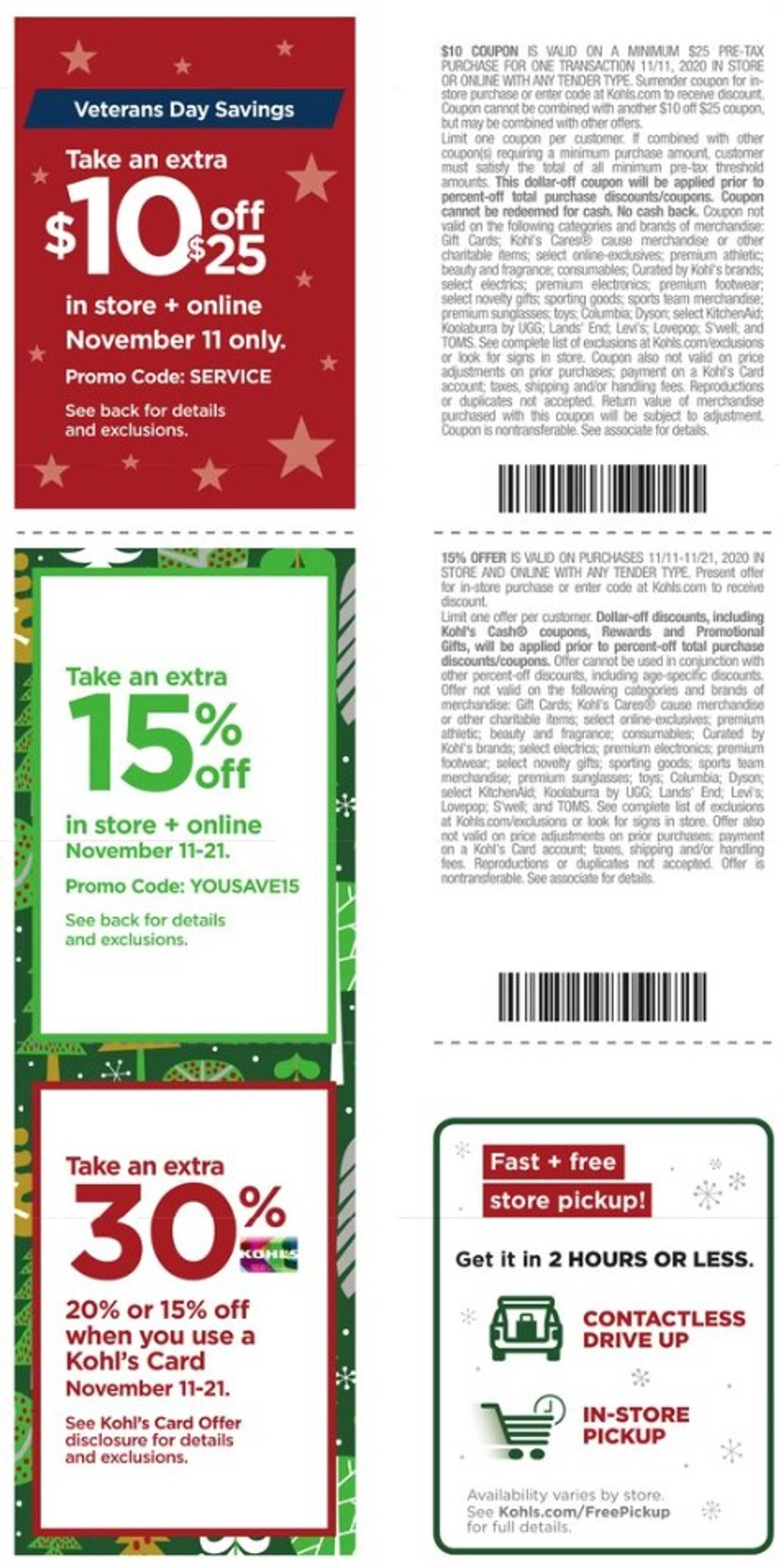 Kohl's - deals are valid from 11/11/20 to 11/22/20 - page 2.