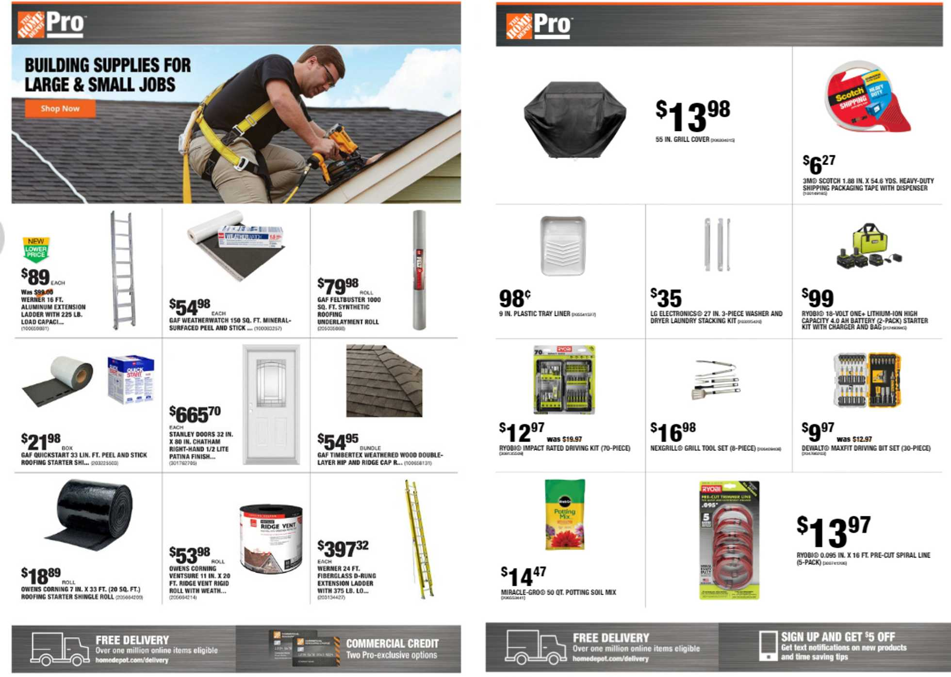 The Home Depot - deals are valid from 06/22/20 to 06/29/20 - page 1.