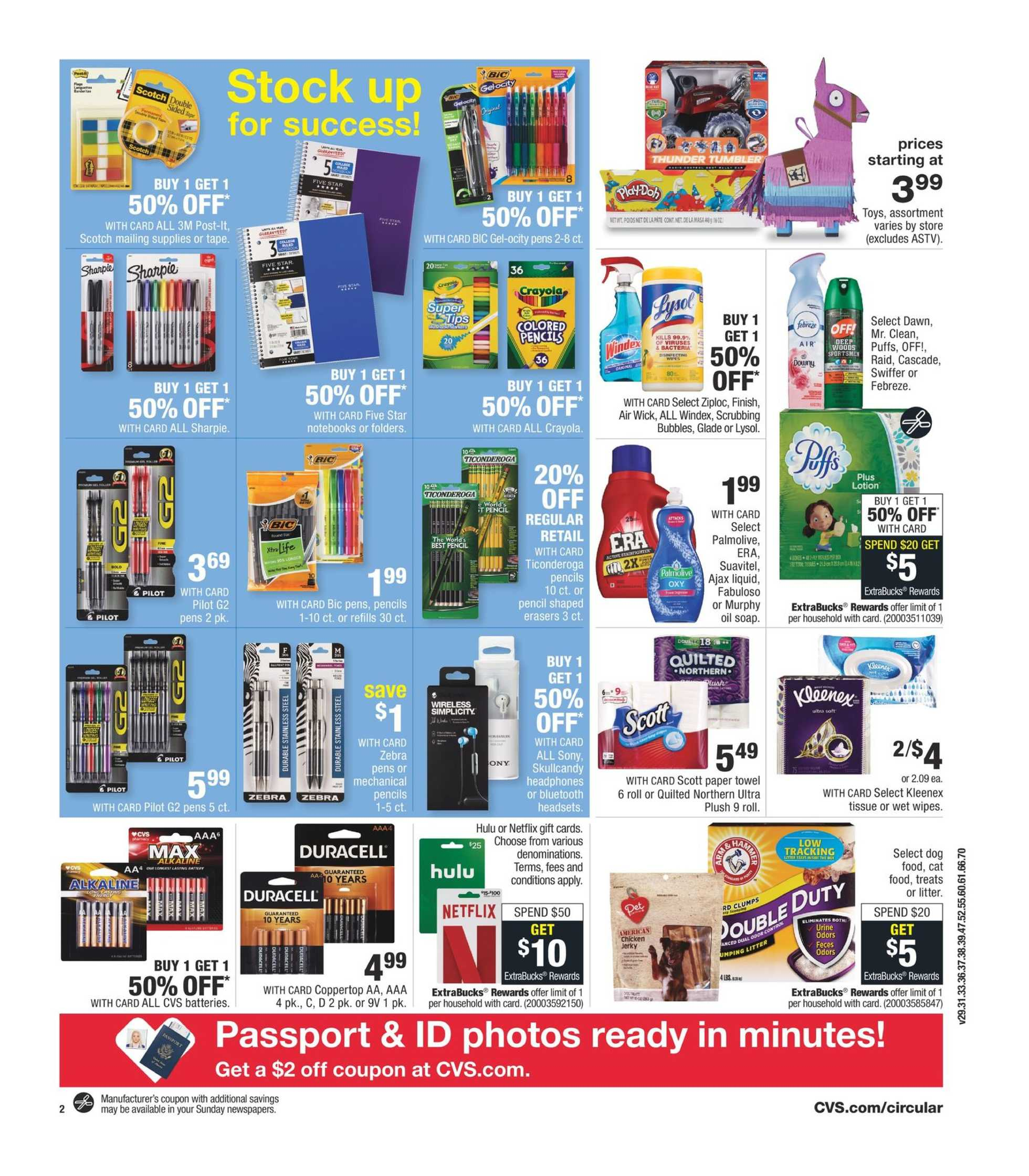 CVS - deals are valid from 08/28/19 to 08/31/19 - page 4.