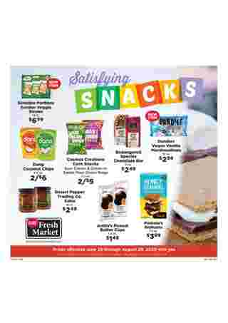 D&W Fresh Market - deals are valid from 06/28/20 to 08/29/20 - page 8.