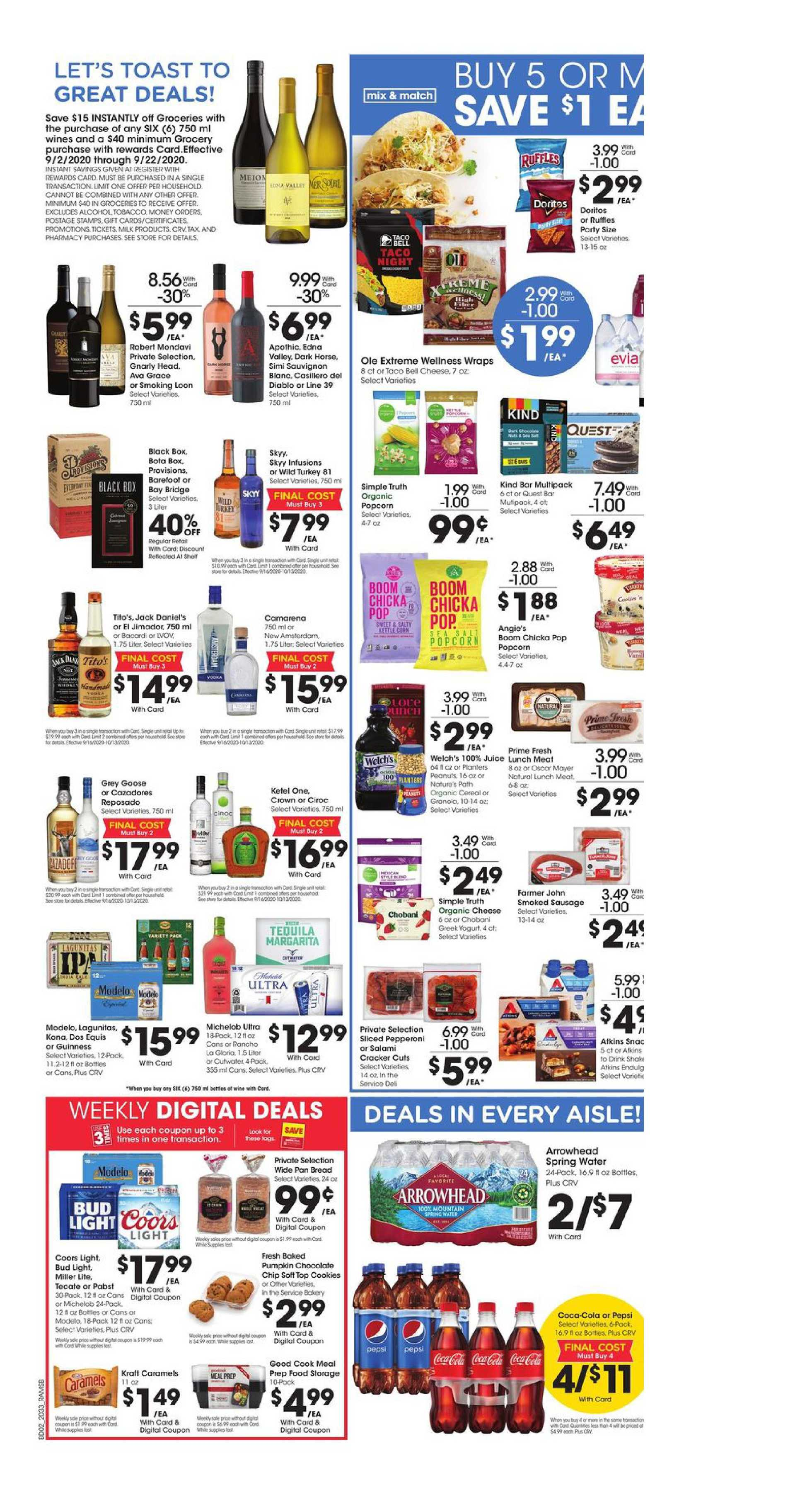 Ralphs - deals are valid from 09/16/20 to 09/22/20 - page 4.
