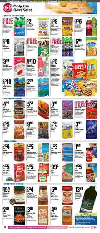 Big Y - deals are valid from 10/03/19 to 10/09/19 - page 8.