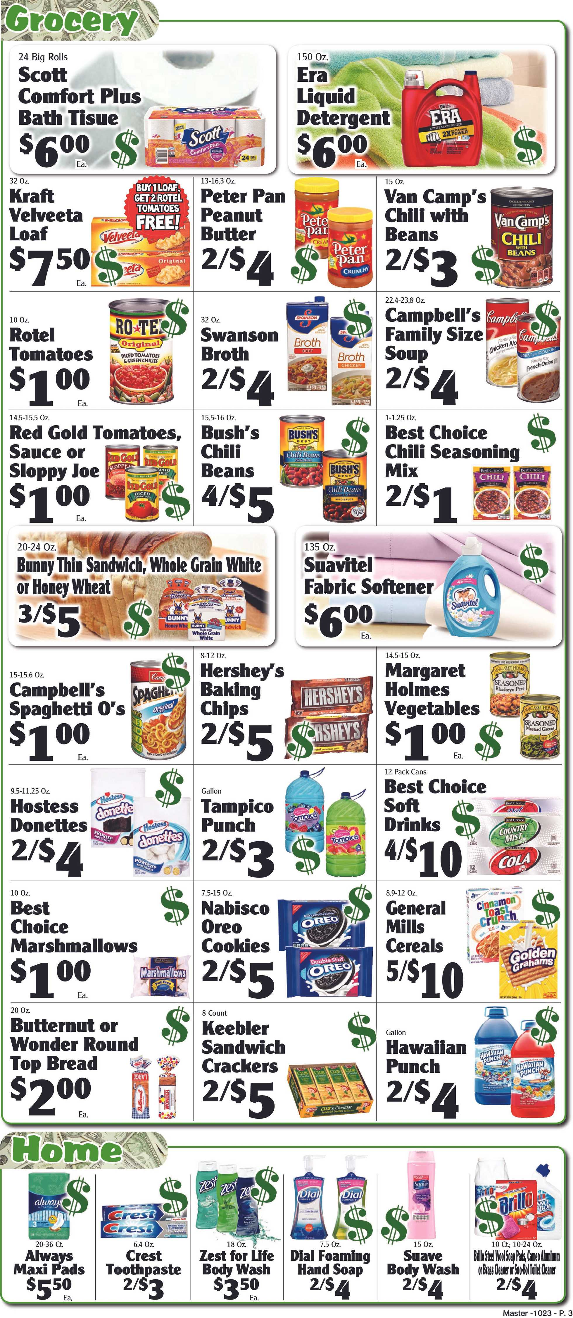 Piggly Wiggly - deals are valid from 10/23/19 to 10/29/19 - page 3.