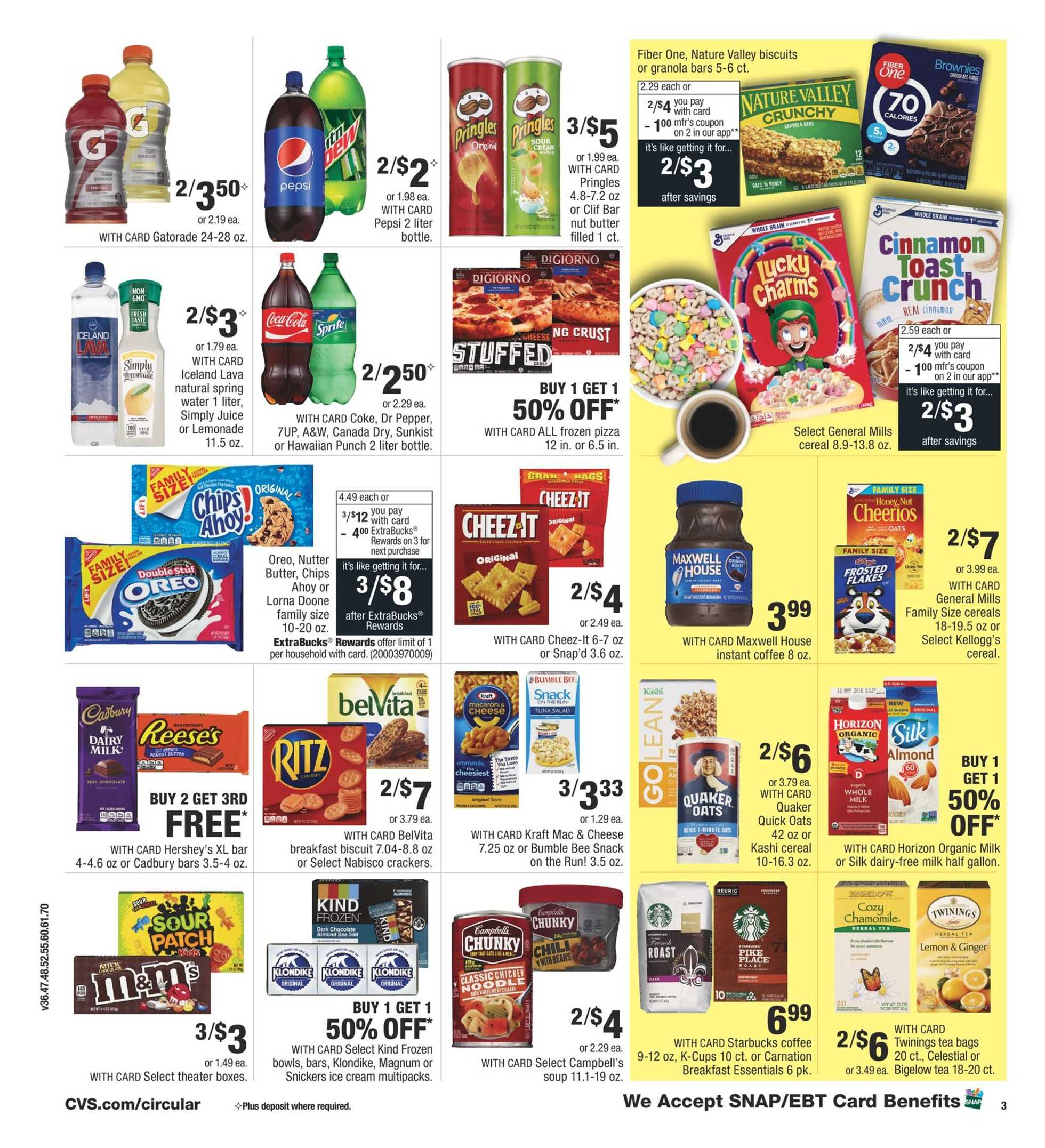 CVS - deals are valid from 09/20/20 to 09/26/20 - page 4.