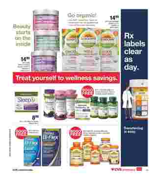 CVS - deals are valid from 08/28/19 to 08/31/19 - page 17.