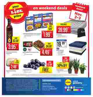 Lidl - deals are valid from 10/30/19 to 11/05/19 - page 16.