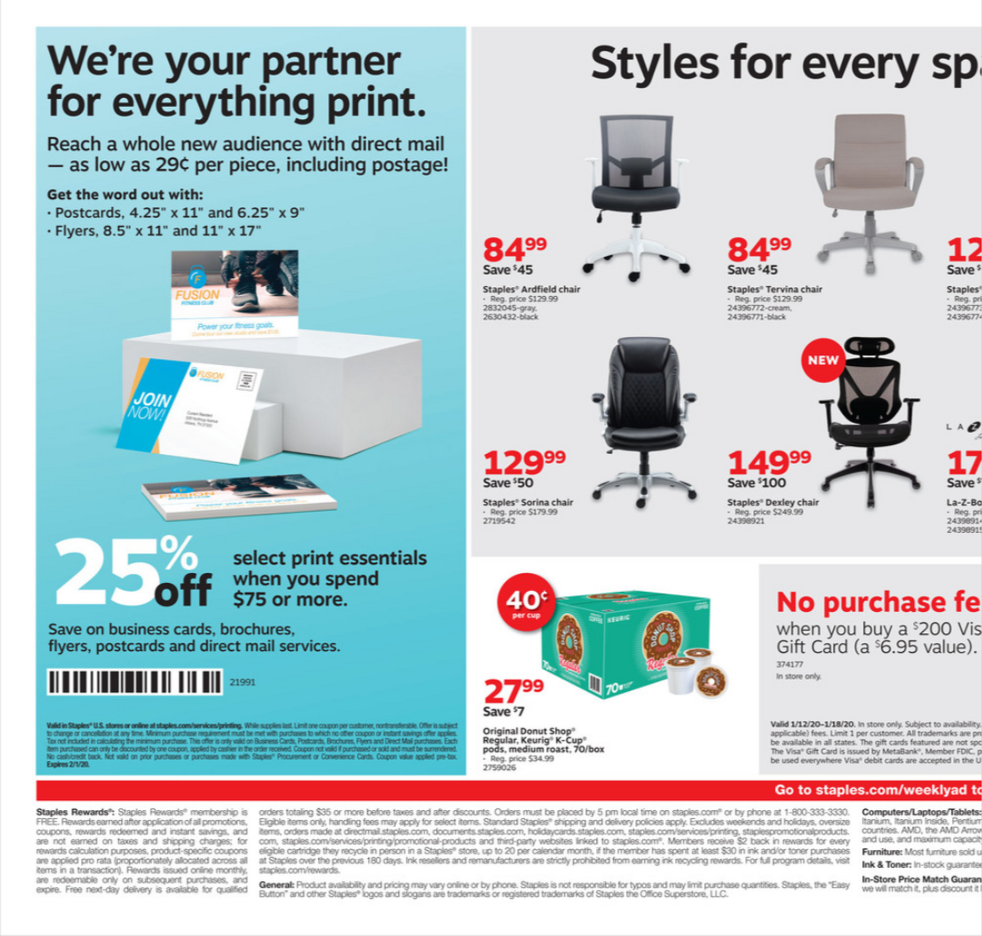 Staples - deals are valid from 01/12/20 to 01/18/20 - page 2.