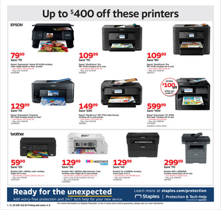 Staples - deals are valid from 01/12/20 to 01/18/20 - page 6.
