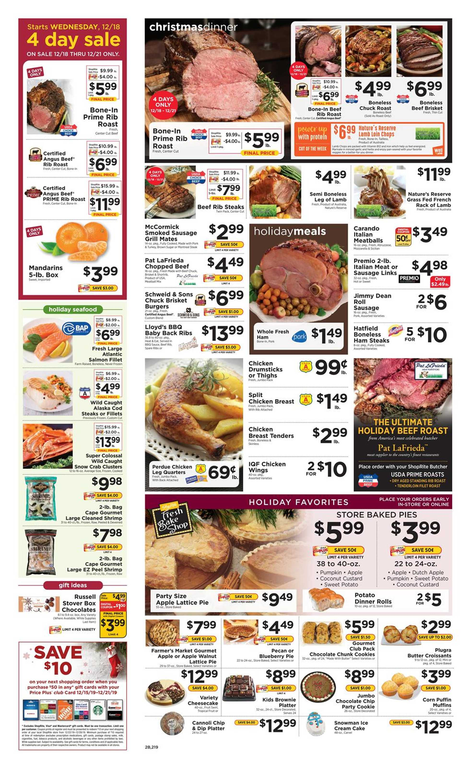 ShopRite - deals are valid from 12/15/19 to 12/21/19 - page 2.