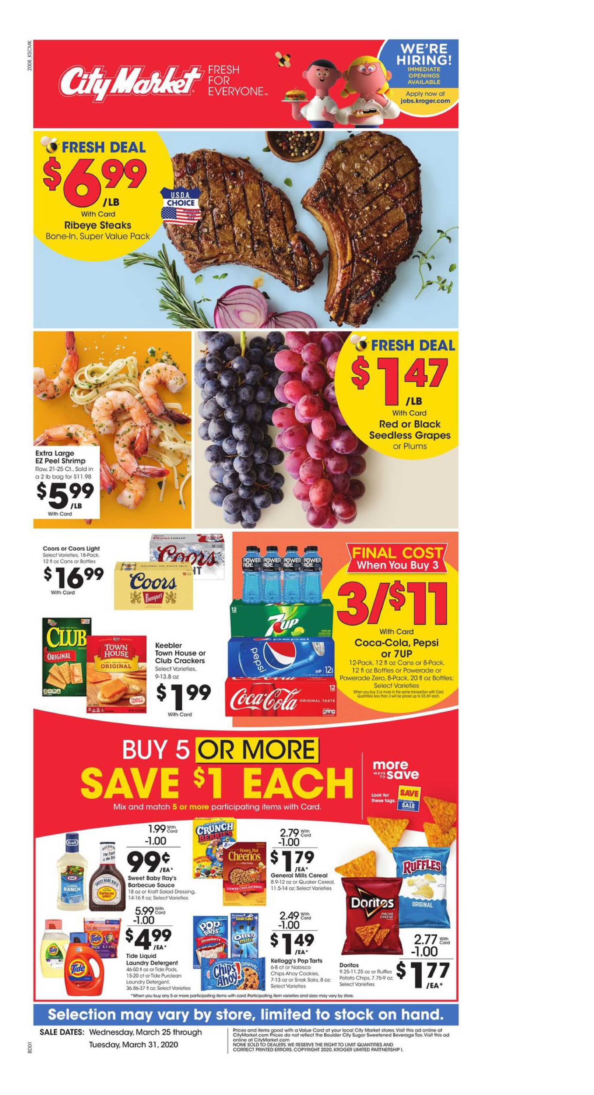 City Market - deals are valid from 03/25/20 to 03/31/20 - page 2.
