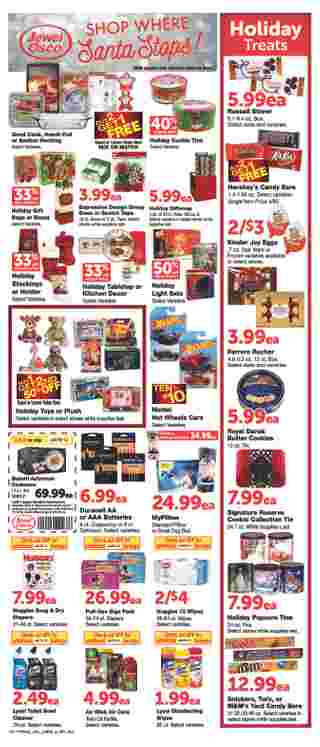 Jewel Osco - deals are valid from 12/11/19 to 12/17/19 - page 9.