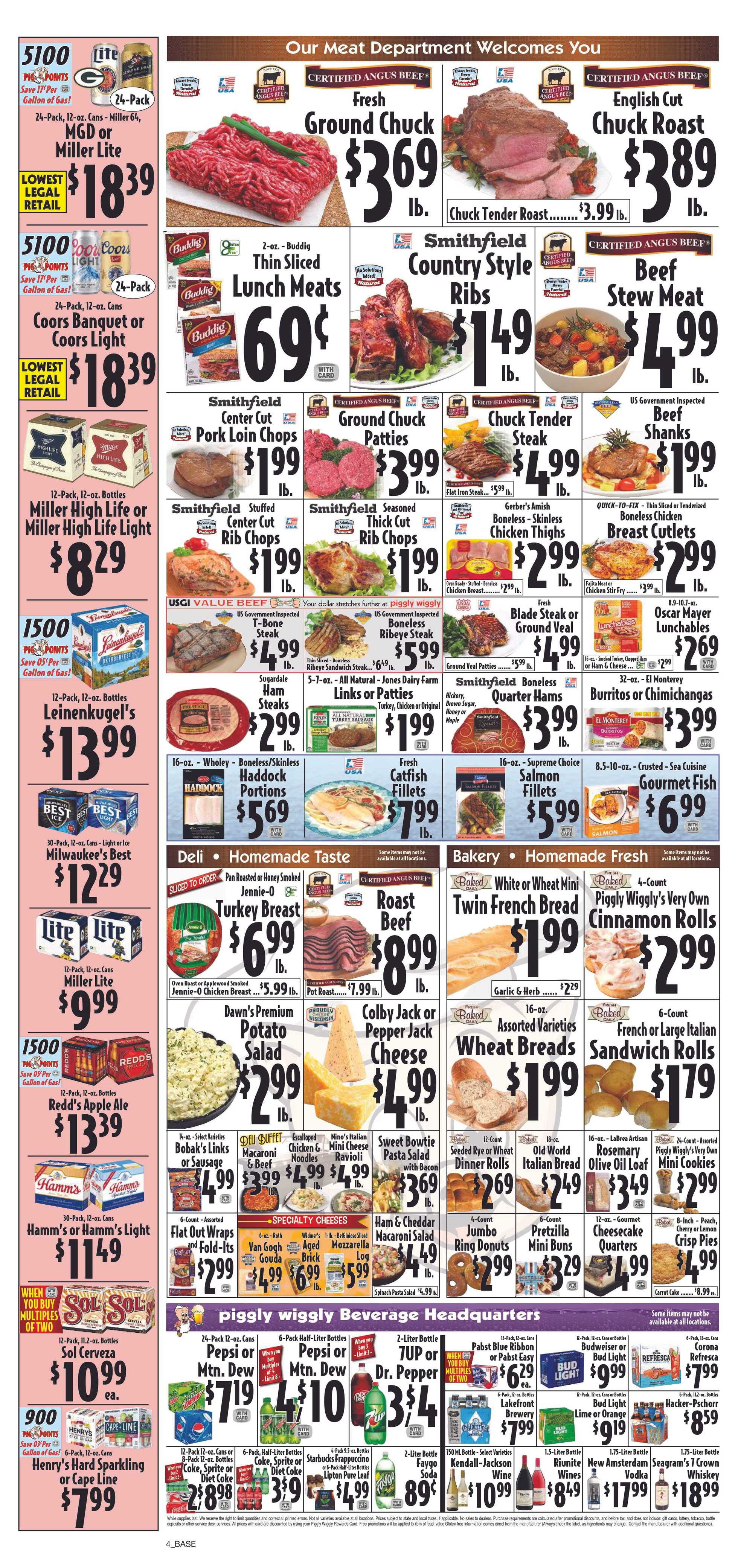 Piggly Wiggly - deals are valid from 09/18/19 to 09/24/19 - page 4.