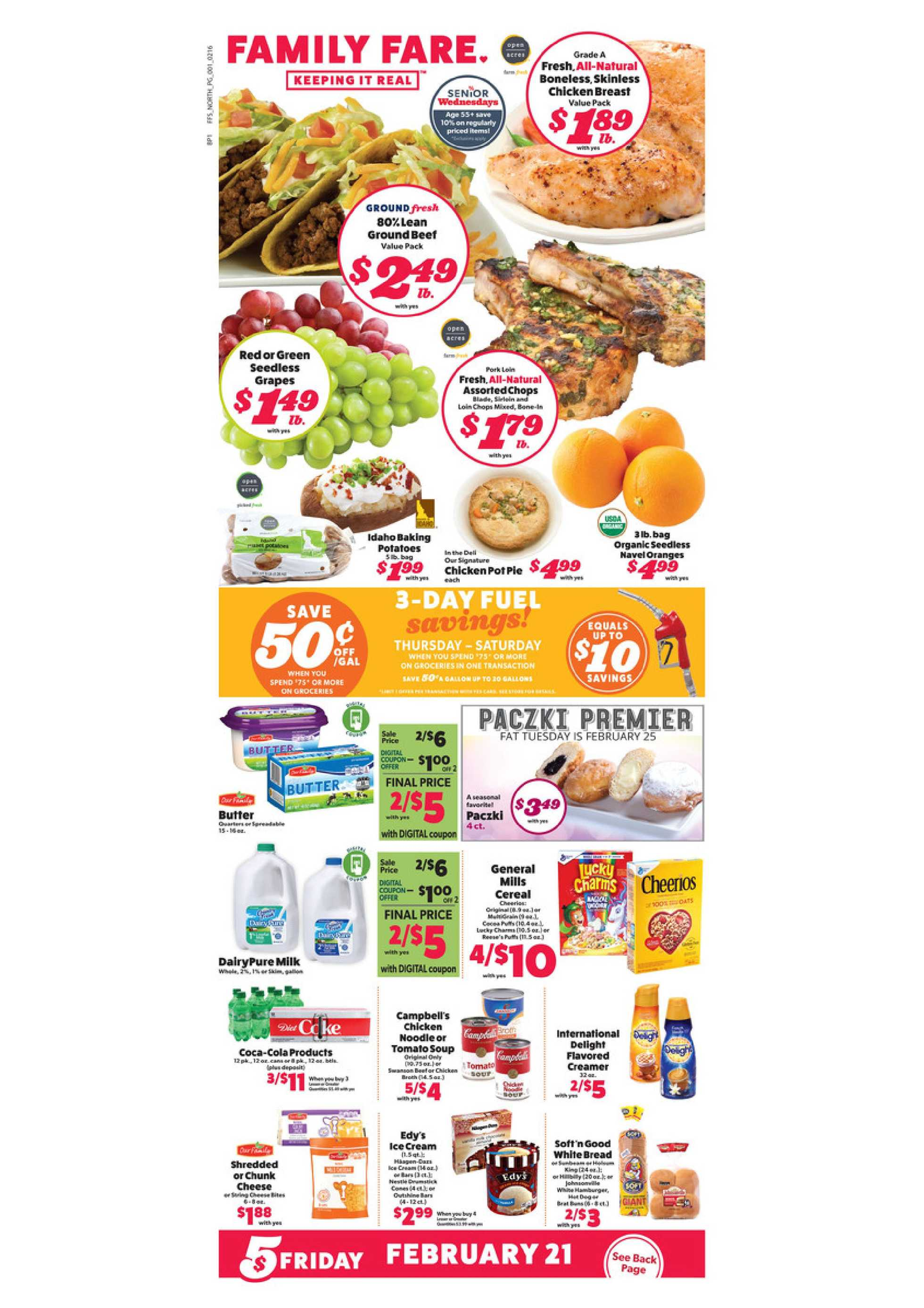 Family Fare - promo starting from 02/16/20 to 02/22/20 - page 1.
