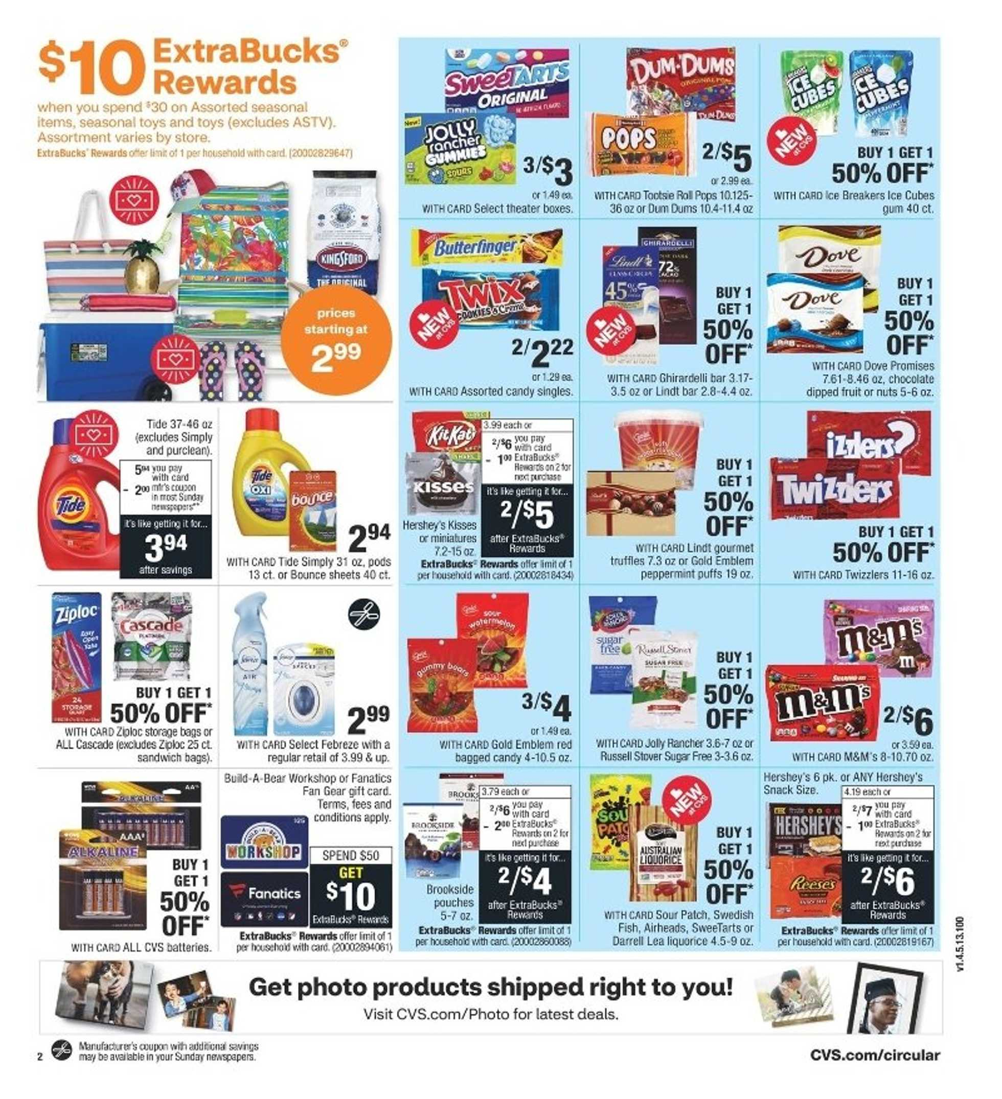 CVS - deals are valid from 07/05/20 to 07/11/20 - page 3.