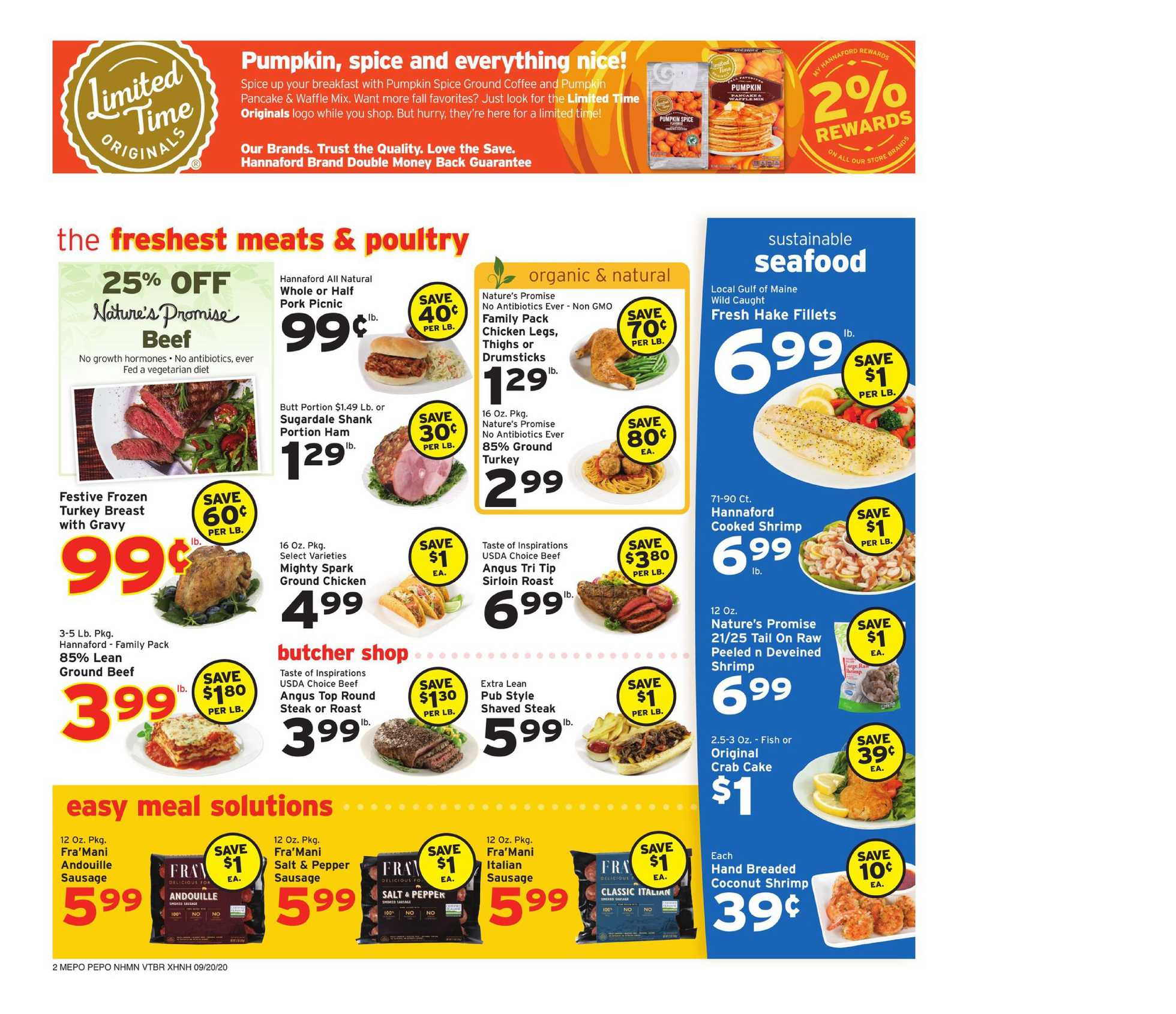 Hannaford - deals are valid from 09/20/20 to 09/26/20 - page 2.