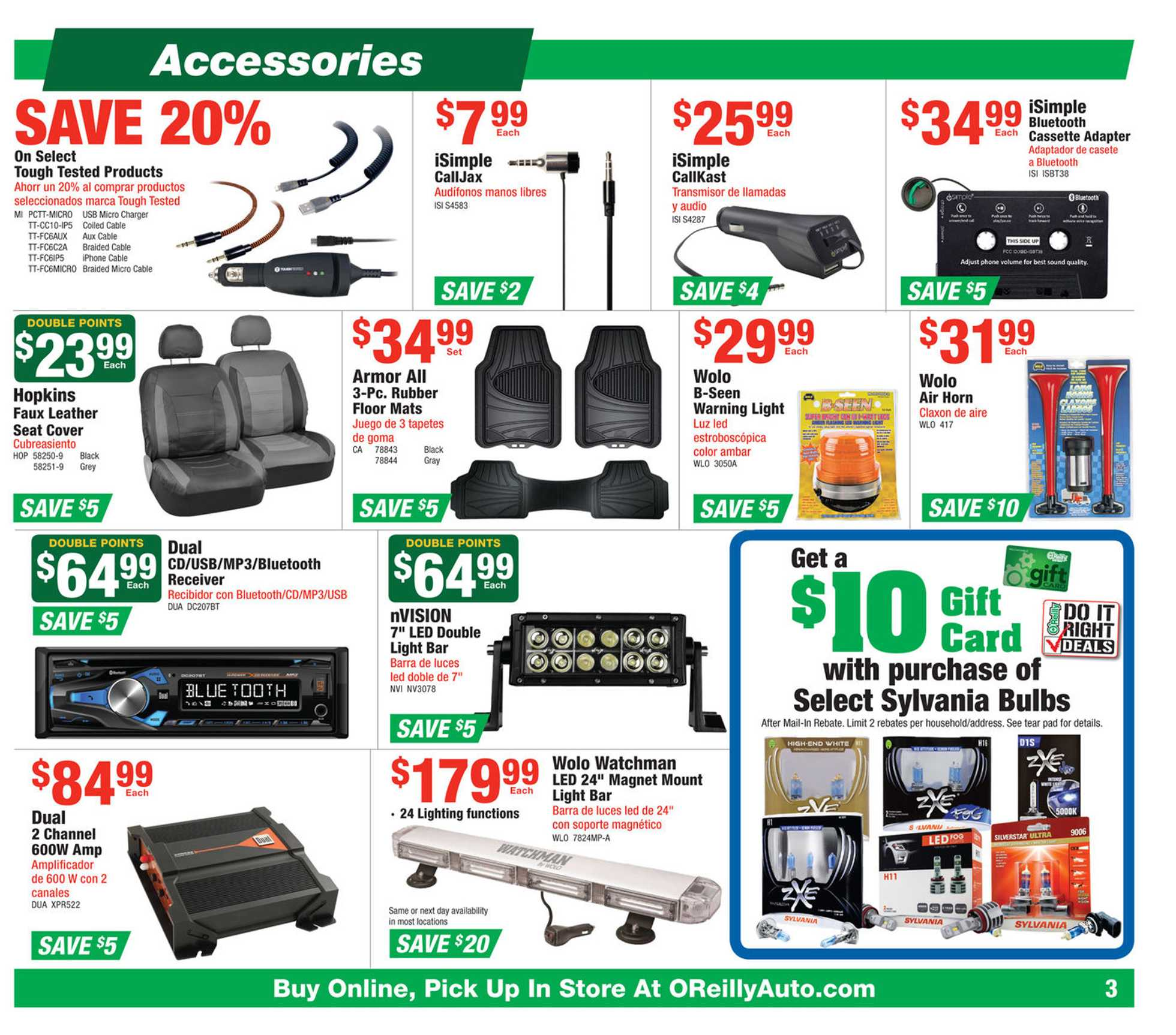 O'reilly - promo starting from 12/25/19 to 01/28/20 - page 3.