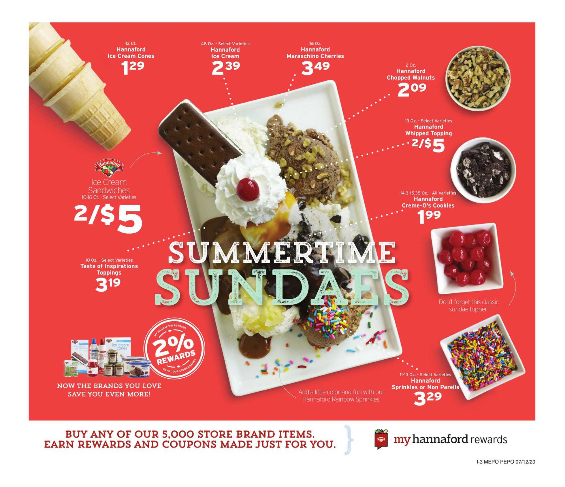 Hannaford - deals are valid from 07/12/20 to 07/18/20 - page 4.