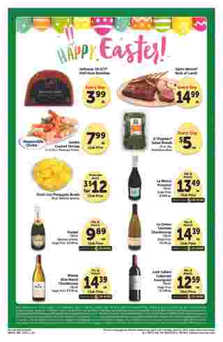 Safeway - deals are valid from 04/03/19 to 04/30/19 - page 12.