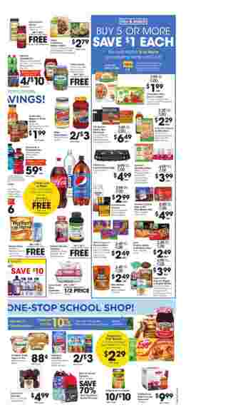 Ralphs - deals are valid from 08/26/20 to 09/01/20 - page 5.