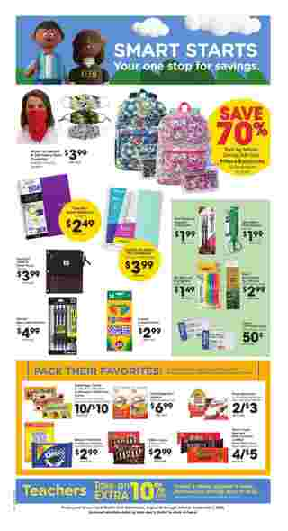 Ralphs - deals are valid from 08/26/20 to 09/01/20 - page 7.