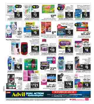 CVS - deals are valid from 07/26/20 to 08/01/20 - page 11.