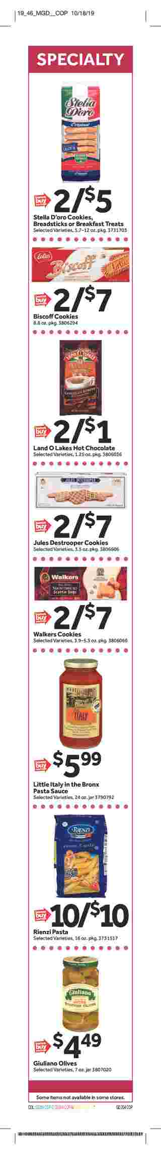 Stop & Shop - deals are valid from 11/08/19 to 11/14/19 - page 20.