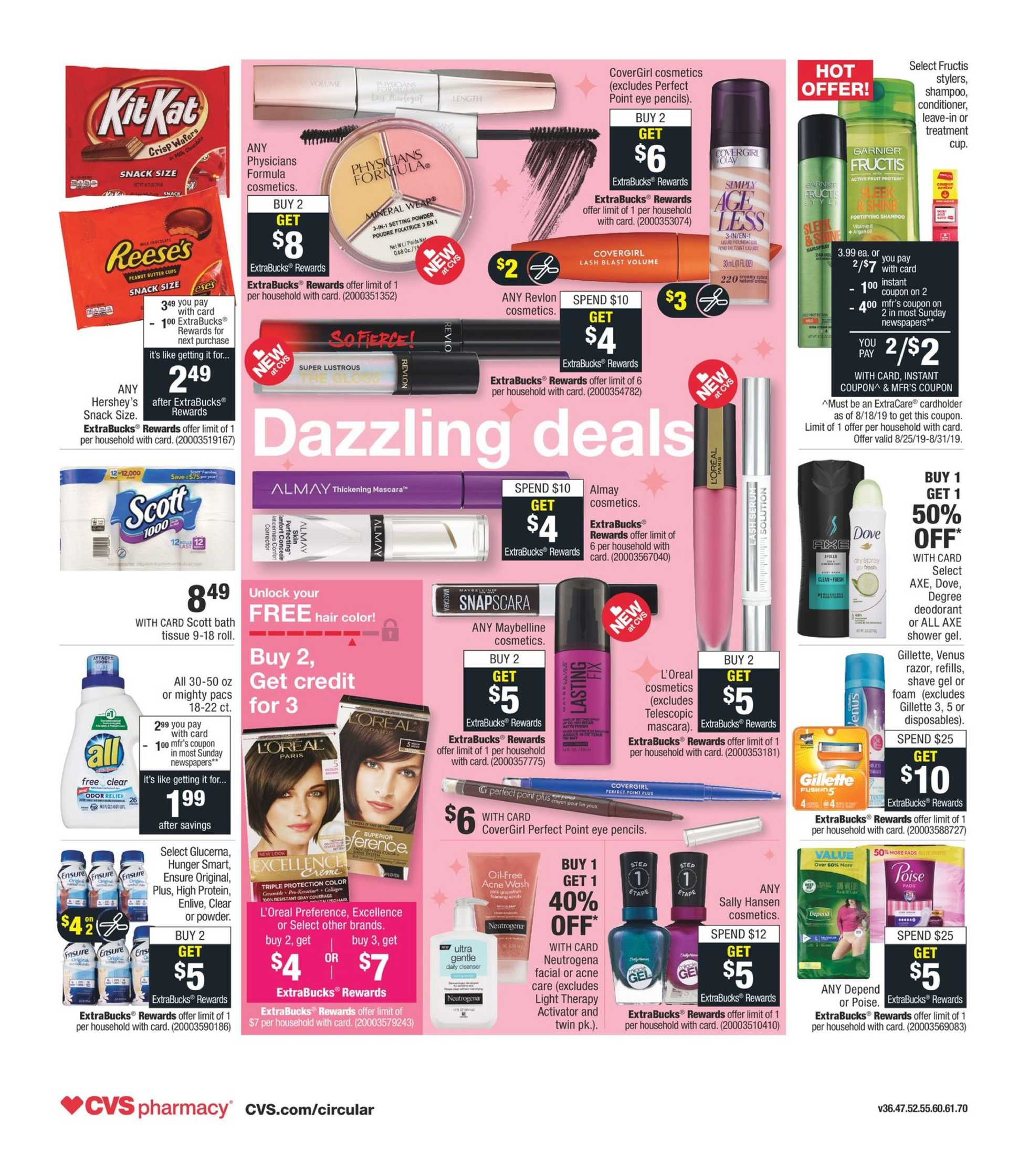 CVS - deals are valid from 08/28/19 to 08/31/19 - page 2.