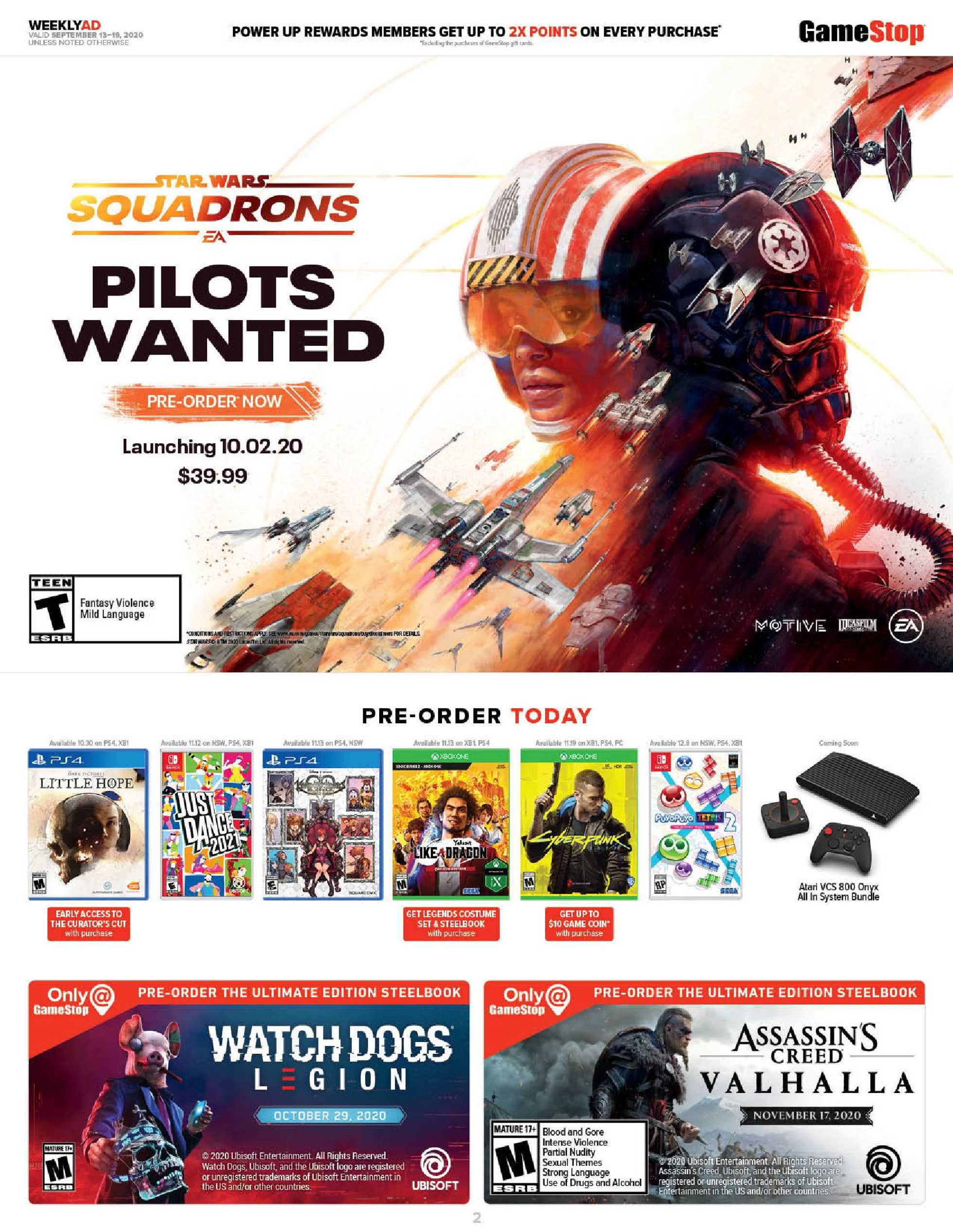 GameStop - deals are valid from 09/13/20 to 09/19/20 - page 2.