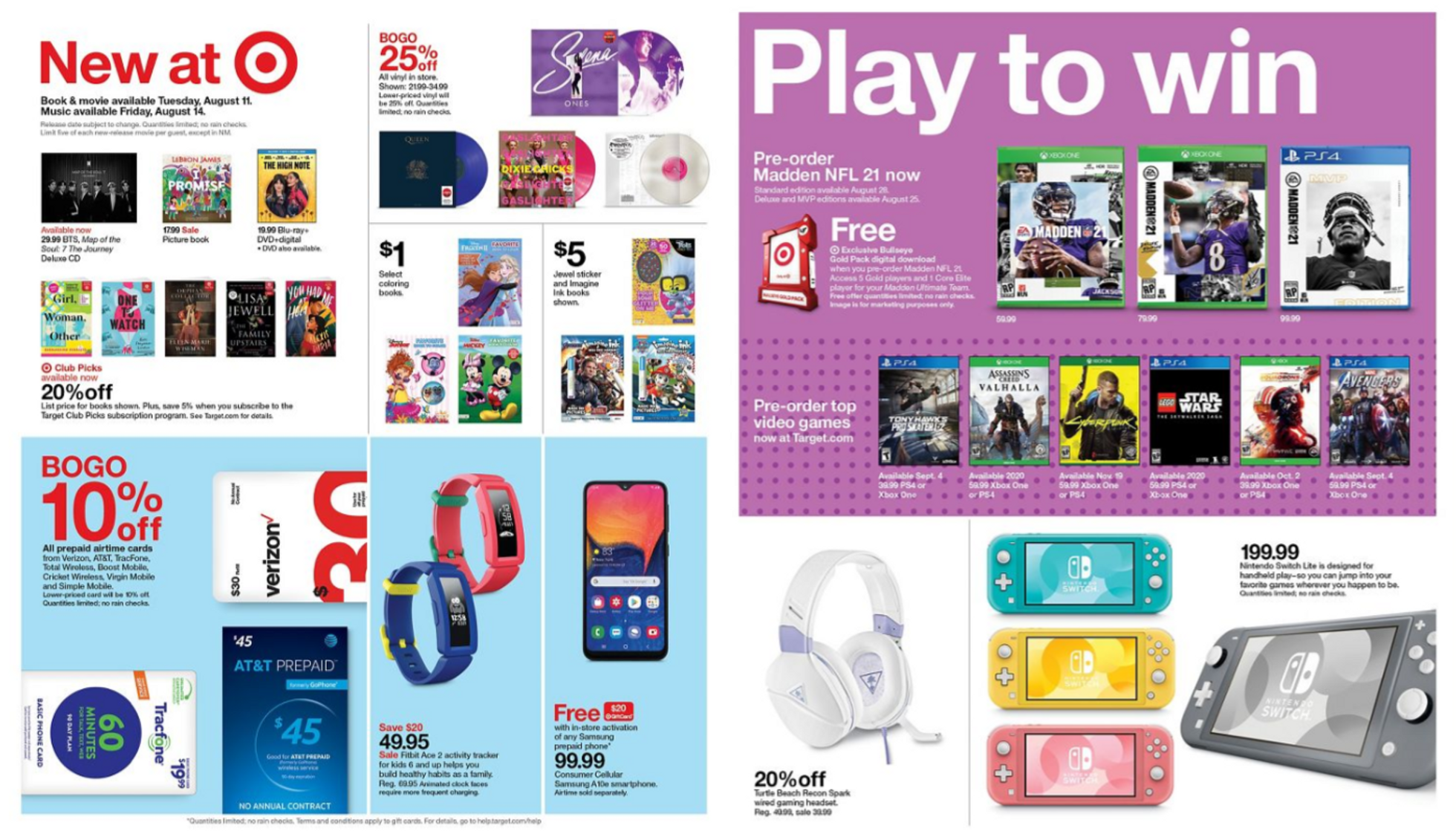 Target - deals are valid from 08/09/20 to 08/15/20 - page 4.